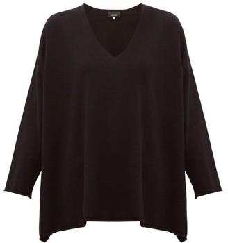 eskandar V-neck Cashmere Sweater - Womens - Black