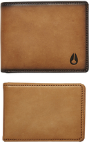 Nixon Pass Bi Fold Id Wallet Brown