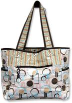 Trend Lab cocoa dots tote diaper bag
