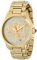 Juicy Couture Women's 1901148 Jetsetter Analog Display Quartz Gold Watch