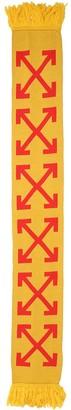 Off-White Arrows Intarsia Scarf
