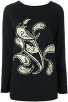 Antonio Marras abstract patch sweatshirt