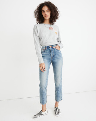 Madewell Rivet & Thread Perfect Vintage Crop Jeans in Swinton Wash