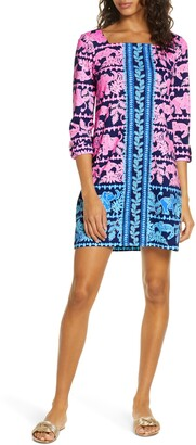 Lilly Pulitzer Bailee Print Floral Shift Dress