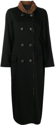 Simonetta Ravizza Double Breasted Long Coat