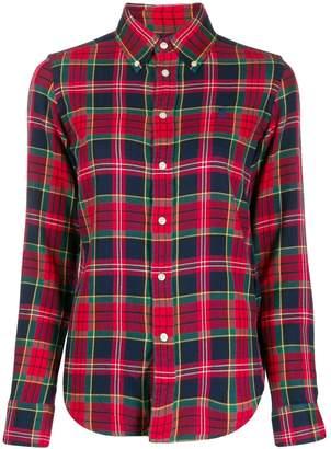 Ralph Lauren plaid long-sleeve shirt