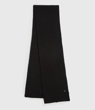 AllSaints Thermal Wool Blend Scarf