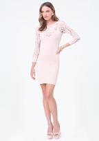 Bebe Aliane Lace Dress