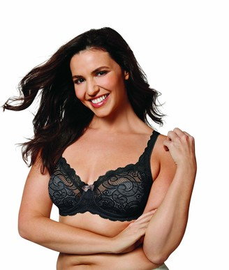 Wonderbra Women's Plus Beautiful Lace and Lift Underwire Bra