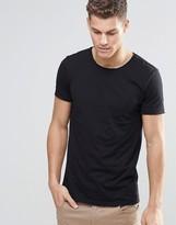BOSS ORANGE T-Shirt With Crew Neck In Black