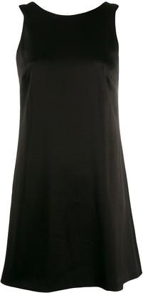 Alice + Olivia Satin Shift Dress