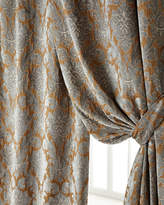 "Legacy Two 50""W x 84""L Bella Damask Curtains"