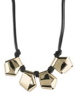 Alexis Bittar Roxbury Muse Knot Necklace