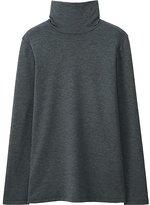 Uniqlo Women Heattech Extra Warm Turtleneck T-Shirt
