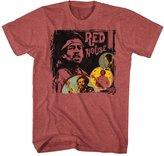Jimi Hendrix - Mens Red House T-Shirt