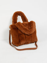 Free People Dolce Faux Fur Tote