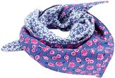 Peppercorn Kids Reversible Triangle Bandana Scarf - Pink/Blue-One Size