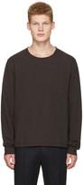 Maison Margiela Grey Cropped Pocket T-shirt