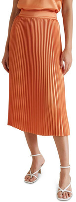 Seed Heritage Pleat Midi Skirt