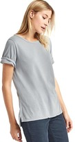Gap Vintage wash sueded boyfriend tee