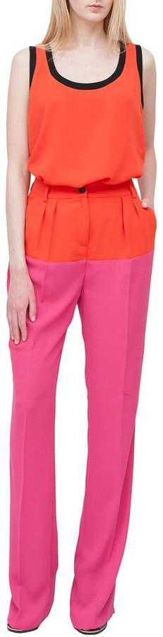 Class Roberto Cavalli Pink Stylish Trousers
