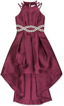 Speechless Big Girls Infinity-Waist High-Low Dress