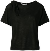 Autumn Cashmere cut-out cashmere T-shirt