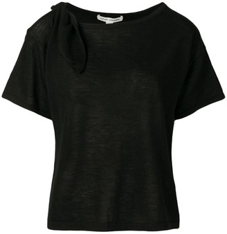 Autumn Cashmere cut-out cashmere T-shirt