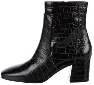 Givenchy Paris Embossed Ankle Boots