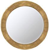 One Kings Lane Parvati Wall Mirror, Natural Wood