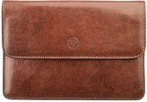 Maxwell Scott Bags Men S Finely Crafted Leather Travel Wallet In Tan