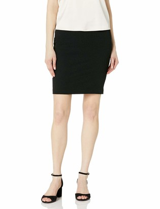 Only Hearts Women's Stretch Matelasse Knee Length Pencil Skirt