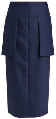 The Row Front-Pocket Jenna Skirt