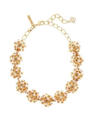 Oscar de la Renta Cabochon Ball Necklace