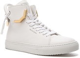 Buscemi 125MM Corner Metal Leather Sneakers