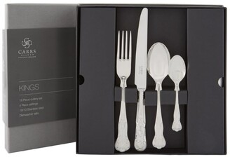 Carrs of Sheffield Silver Kings Cutlery Set (16 Pieces)