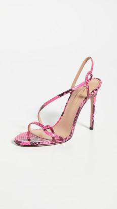 Aquazzura Serpentine Sandals 105mm