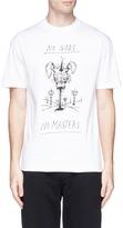 McQ by Alexander McQueen 'No Gods, No Masters' print T-shirt