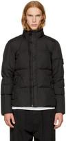 Stone Island Black Down Puffy Jacket
