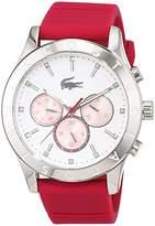 Lacoste Women's Quartz Watch with Charlotte Multi Analog Quartz Silicone 2000940
