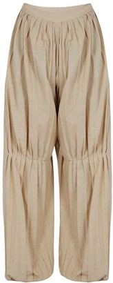 Em & Shi Marigold Pleated Pants