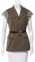 Gryphon Sequin Structured Vest