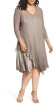 Komarov Plus Size Women's Tiered Dress
