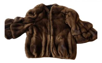 Valentino Brown Mink Jackets