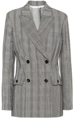 Joseph Moore cotton and linen blazer