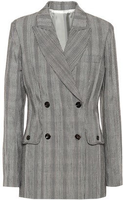 Joseph Moore cotton and linen blazer