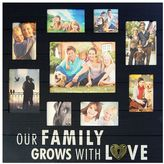 """New View Our Family Grows"""" 9-Opening Photo Collage"""