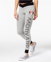 Disney Juniors' Minnie Mouse Motivated Graphic Leggings