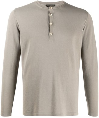 Dell'oglio Buttoned Long-Sleeved Top