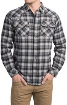 Gramicci Off Trail Plaid Shirt - Classic Fit, Snap Front, Long Sleeve (For Men)